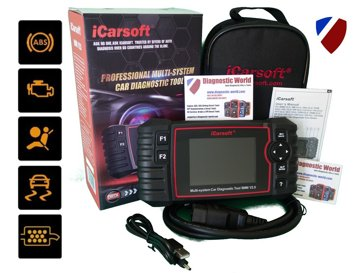 iCarsoft BMM V2.0 Engine ABS Airbags DPF Battery Registration Diagnostic Tool