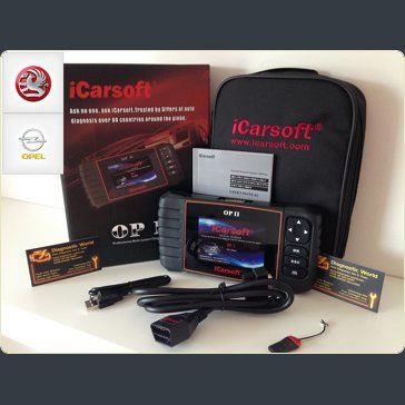 iCarsoft OP II 2 Vauxhall Opel Diagnostic World UK