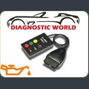 BMW 16 pin obd2 oil service light lamp reset tool diagnostic world