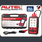 Autel MD808 Pro Diagnostic World Engine abs airbags dpf battery steering angle epb 9