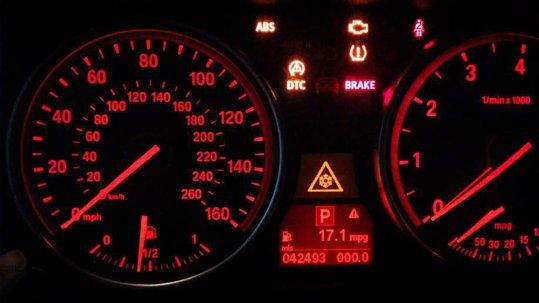 Bmw X6 E71 Dash Warning Lights