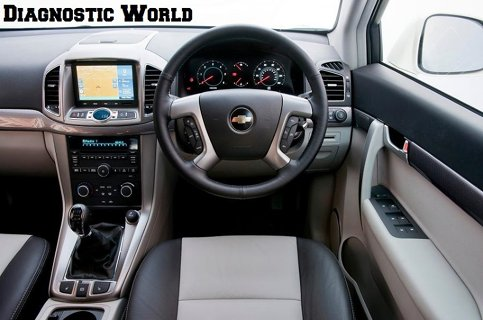 Chevrolet Captiva Interior Diagnostic World