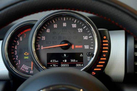 Mini Cooper Dash Warning Lights Symbols