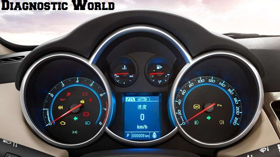 Chevrolet Cruse Dash Speedo Cluster Clocks Warning Lights Diagnostic World