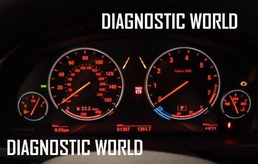 BMW X5 F15 Dash Warning Light Guide