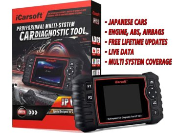 iCarsoft JP V2 0 for Japanese Cars -MULTI System, DPF, Battery
