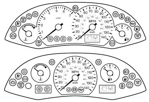 Mk1 Focus Car Warning Lights